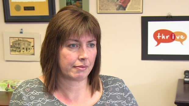 Angela Crockwell, executive director of Thrive youth outreach group, says sharing sexually explicit photos could have long-lasting effects on the victims.
