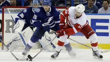 Lightning Defeat Red Wings In Game 7: Tampa Advances To 2nd-round Meeting With Canadiens