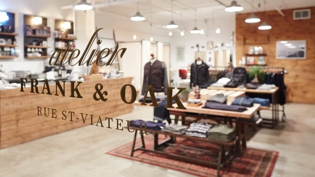 Frank & Oak once only sold its clothes online. But the company has since opened six locations in Canada and has plans to open six more in the U.S.