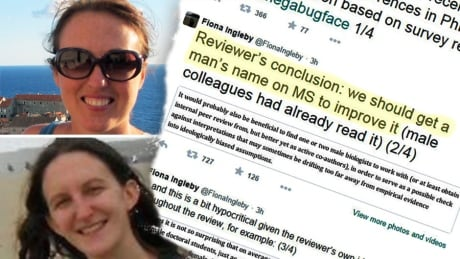 Peer reviewer tells female biologists their study would be better if