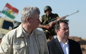Stephen Harper Iraq trip