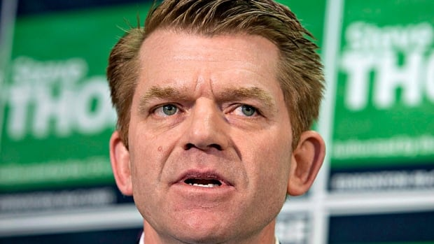 "'I am pretty sure Tims will correct their mistake quickly, but I don't think it's appropriate what they have done,"" says Brian Jean, leader of Alberta's Wildrose Party, referring to the company pulling Enbridge ads from its in-store TV ads."