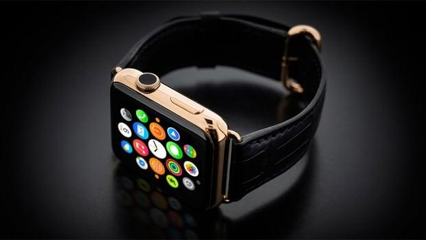 Golden Dreams Apple Watch