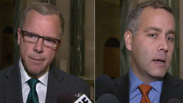 Saskatchewan Party Leader Brad Wall and NDP Leader Cam Broten kick off their campaigns today.