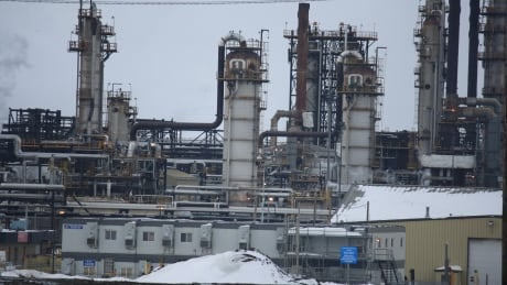 Syncrude oil sands site near Fort McMurray