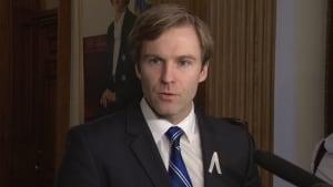 New Brunswick Premier Brian Gallant