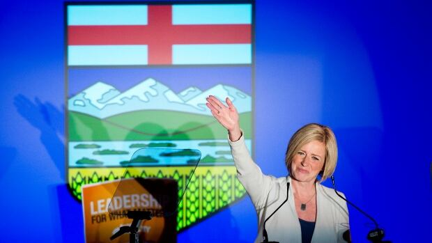 Premier-designate Rachel Notley following her election victory. While business leaders may be worried about what will happen under an NDP government, Don Pittis says Notley can help the province, and the country, escape the economic effects of the 'resource curse.'