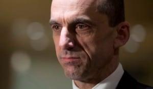 Public Safety Minister Stephen Blaney