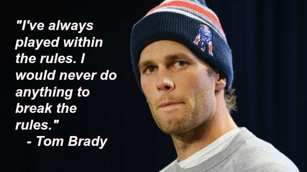 Brady harassment sexual tom