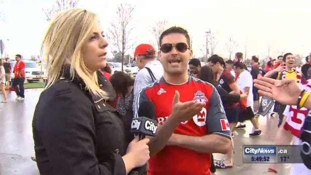 CityNews reporter Shauna Hunt turned the tables on men who taunted her at a Toronto FC soccer game. Fallout from the publicity has cost one man his job, and