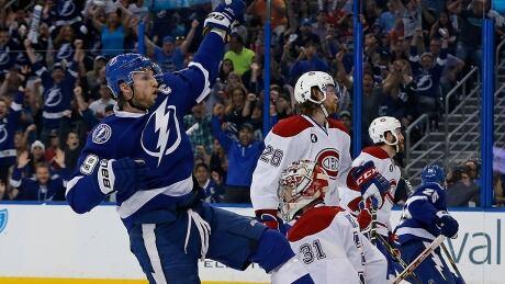 Steven Stamkos, Lightning Eliminate Canadiens In Game 6