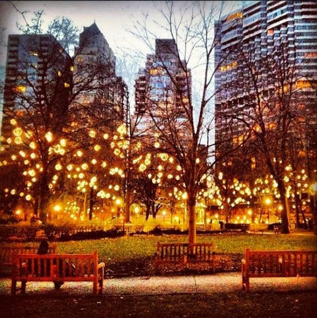 Instagram shot of Philadelphia