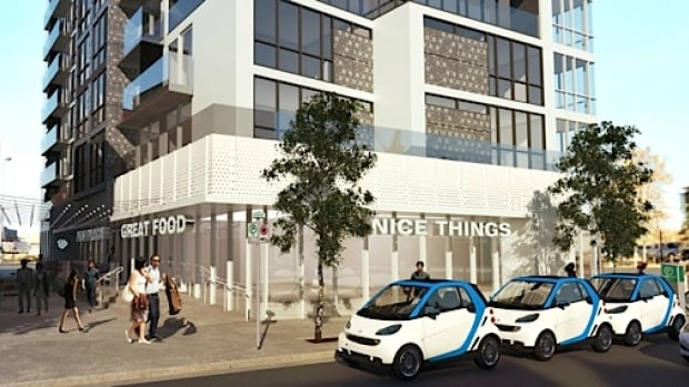 N3 buyers will find their units come furnished with a bicycle and free bike parking, as well as a $500 credit with car-sharing service Car2Go.