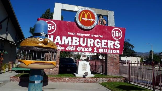 McDonald's museum in California