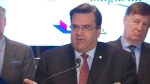 Montreal Mayor Denis Coderre Canada Post