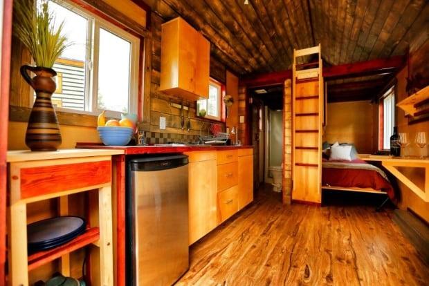 Micro home interior