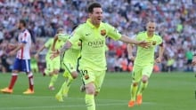 Messi goal gives Barcelona La Liga crown