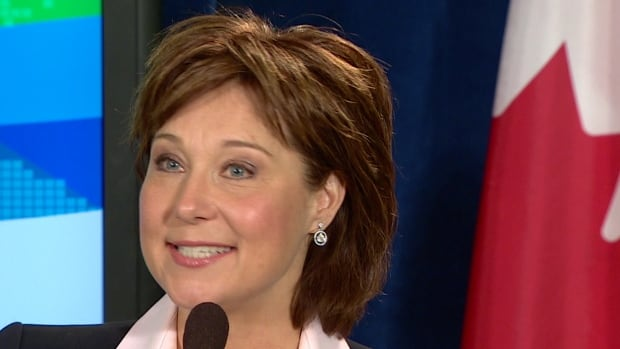 B.C. Premier Christy Clark says she envisions a good relationship with the new Liberal leader despite her party's Conservative ties.