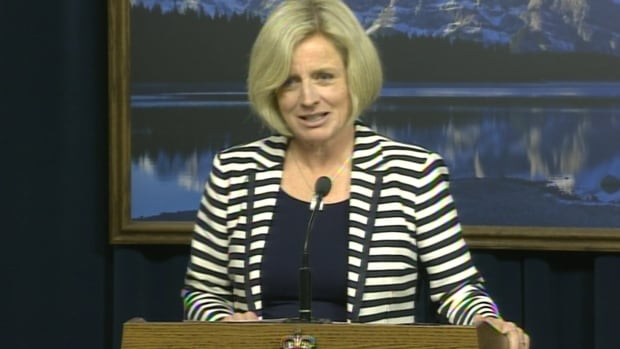 Premier-designate Rachel Notley says she, along with 11 new cabinet members, will be sworn in on Sunday at the legislature.