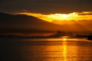 Burrard Inlet sunrise