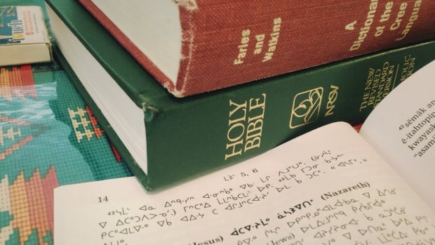 Saskatoon's Gayle Weenie and Dolores Sand are working on a Plains Cree translation of the Bible.