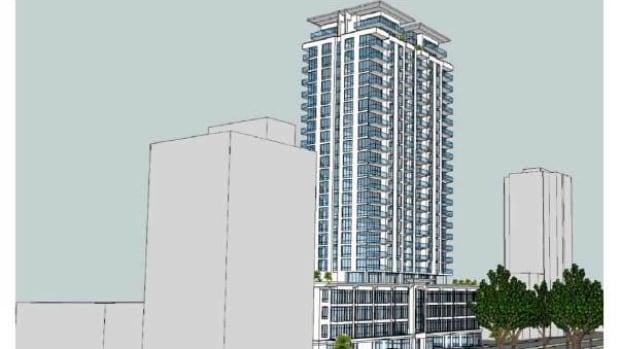 Robie Street building proposal design.