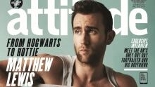 J.K. Rowling 'getting over the shock' of Matthew Lewis's risqué fashion shoot