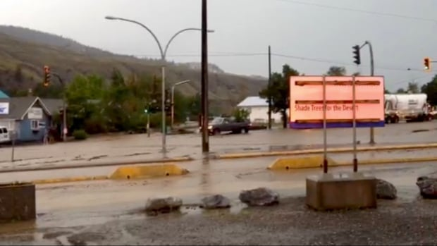 Cache Creek (BC) Canada  City new picture : Flash flood hits Cache Creek, B.C.