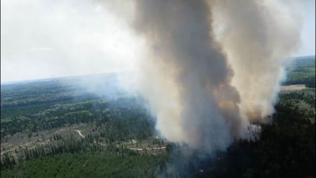A forest fire west of Kenora, Ont., closed the road to Shoal Lake 39 First Nation in May. It was one of the more challenging fires in a slower than usual fire season.