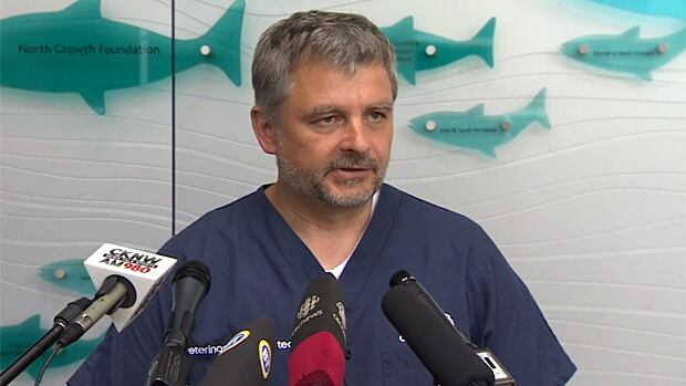 Vancouver Aquarium Veterinarian Martin Haulena