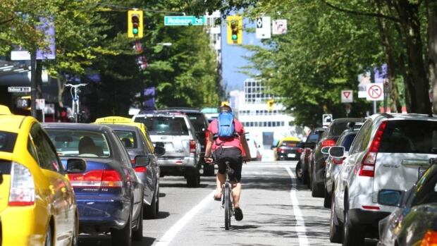 Downtown businesses now accept the Hornby street bike lane after years fighting against it.