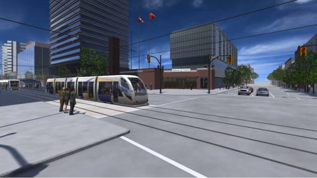 By 2026, this LRT will start making a turn down James Street North to connect with the new GO station.