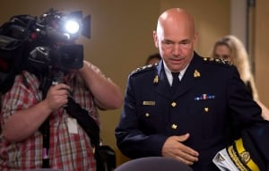 RCMP Commissioner Bob Paulson at Senate committee