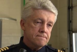 Fire chief Ken Block