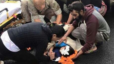 Sikh man New Zealand Good Samaritan