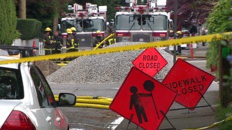 Kitsilano gas leak
