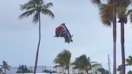 Bouncy Castle takes off in Florida