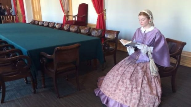 A replica of the Confederation Chamber is popular with Island visitors.