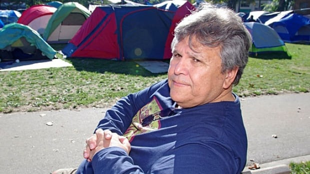 Ernie Crey has spent the past 40 years advocating for the rights of aboriginal people, including the time he spent in the tent city at Oppenheimer Park in the summer of 2014.