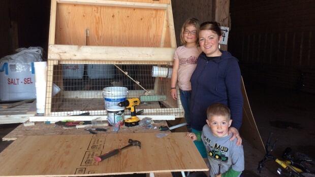 Sally Bernard of Barnyard Organics is offering a chicken rental program on P.E.I. this summer.