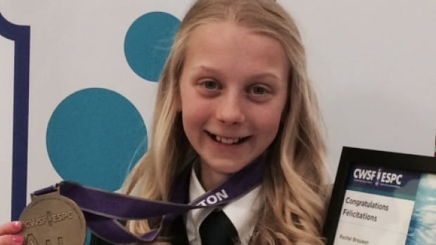 Fourteen-year-old Rachel Brouwer, who created a water purification system out of everyday materials, is attending a massive international science fair.
