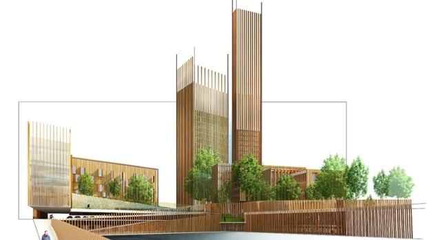 Vancouver architect Michael Green's proposal would add the world's tallest wooden building to the Parisian skyline.