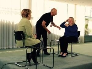 Angela-Merkel-Margaret-Evans