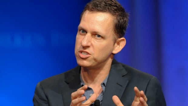 Peter Thiel, co-founder of PayPal, speaks in 2013.