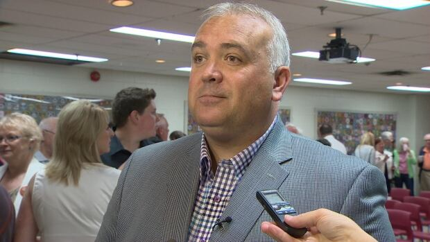 Sackville-Cobequid MLA Dave Wilson, an NDP leadership candidate, has fired a volunteer who did not follow the rules when accessing the party's membership list.