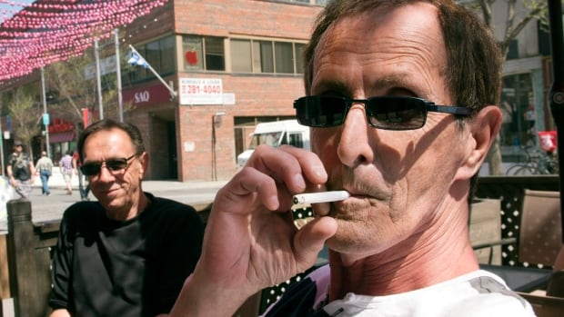 The number of Canadians smoking has fallen from about 50 per cent in the mid-1960s to about 20 per cent of people over the age of 12 in 2013.