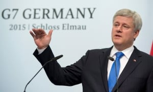 Stephen Harper at the G7
