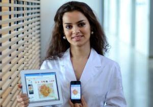 Maryam Sandeghi unveils Molescope skin cancer app