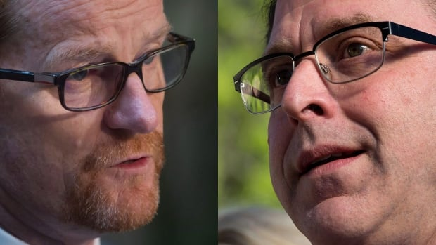 Terry Lake and Adrian Dix