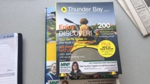 smaller yellow pages phone book is on its way to thunder bay